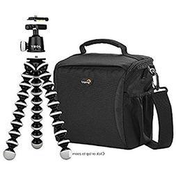 Lowepro/Joby - Format 160 Camera Bag & GorillaPod Tripod - B