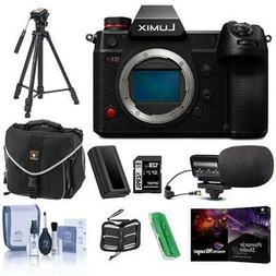Panasonic Lumix DC-S1H Mirrorless Digital Camera Body With F