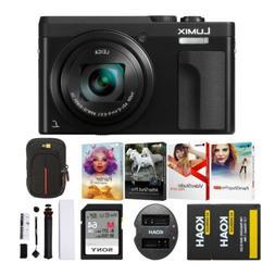 Panasonic LUMIX DC-ZS70 20.3MP 4K Digital Camera  Holiday Bu