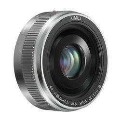 Panasonic Lumix G 20mm f/1.7 II Aspherical Lens for Micro 4/