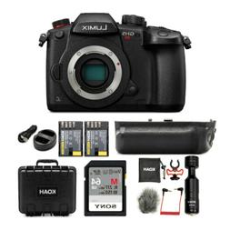 Panasonic LUMIX GH5s 4K Mirrorless Camera Body with 64GB SD