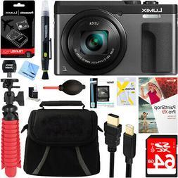 Panasonic LUMIX ZS70 20.3MP Digital Camera  + 64GB Deluxe Ac
