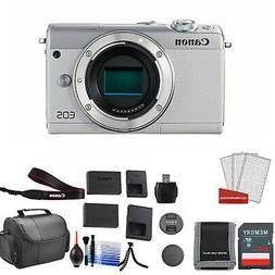 Canon M100 Mirrorless Camera Body  Bundle ? International Mo