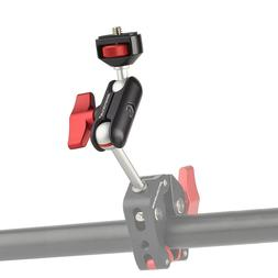 """Magic Arm Camera Mount with Double Ballheads 1/4"""" Screw for"""