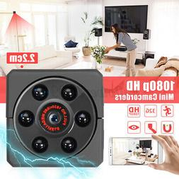 Magnetic Mini HD 1080P Camera Nanny Cam DVR Camcorder Night