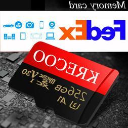 Micro Flash Memory Card 256GB 128GB 64GB 95MBs Class 10 High