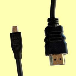 Micro HDMI to HDMI Cable for Canon Nikon Sony Cameras Camcor