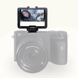 micro single camera flip screen for sony