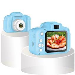 Mini HD 1080P 2.0Inch LCD Compact Digital Camera For Kids Gi