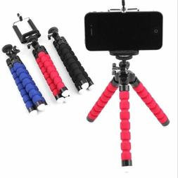 Universal Flexible Octopus Tripod Stand Phone Holder for iPh