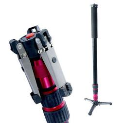 Monopod with Tripod Base for Camera DSLR Mount Stand