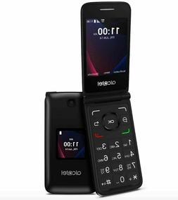 Alcatel MyFlip 4G LTE Flip Phone - A405DL - Big Buttons, Big