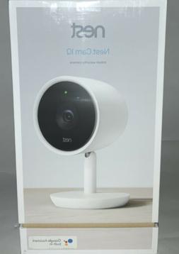 Google Nest Cam IQ NC3100US Indoor Home Security Camera HD W