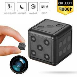NEW 1080P HD Mini Hidden Camera Dice Microphone Hide Keychai