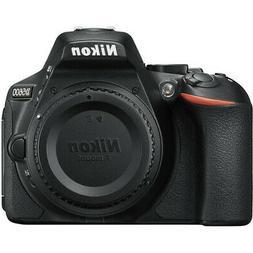 New Nikon D5600 24.2 MP DX-Format CMOS Digital SLR Camera Bo