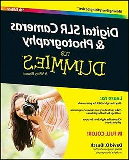 NEW - Digital SLR Cameras and Photography For Dummies