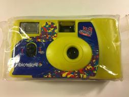 New * Polaroid Fun Shooter Flash Camera..Yellow..one time us