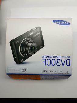 New Sealed Samsung Smart Digital Camera DV300F 16 MP Black W