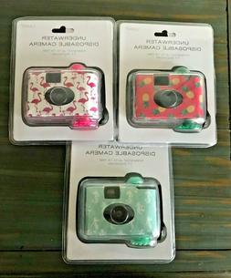 NIB LMNT UNDERWATER DISPOSABLE CAMERA WATERPROOF UP TO 16 FT