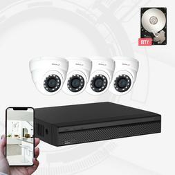 Dahua OEM Aivio 4CH Wired Security Surveillance System 4X1