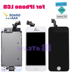 For iPhone 5s 5SE Screen Replacement LCD Touch Digitizer +Bu