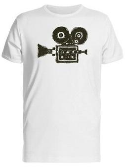 Old Movie Camera Men's Tee -Image by Shutterstock
