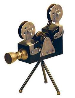 Olivier Camera On Tripod Antique Vintage Style Movie Reel Ph