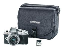 Olympus OM-D E-M10 Mark III camera kit with 14-42mm EZ lens