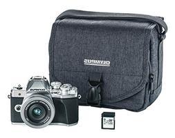 Olympus OM-D E-M10 Mark III camera kit with 14-42mm EZ lens