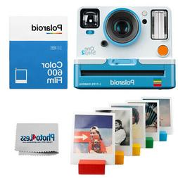 Polaroid OneStep 2 VF Summer Blue Camera | Color Film Double