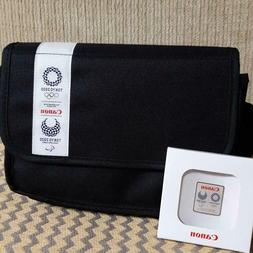 Canon Original camera bag with Pin badge 2020 Tokyo Olympics