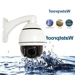 Outdoor Pan/Tilt CCTV  PTZ Camera 1200TVL 30X Zoom IR-CUT Sm