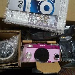 Ricoh Pentax Qs1 Zoom Lens Kit Camera