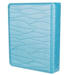 Xit Photo Album for Fuji Instax Photos Ice Blue Holds 64 Pho