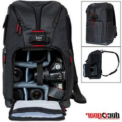 Deco Gear Photographers Sling Backpack for Cameras and Acces