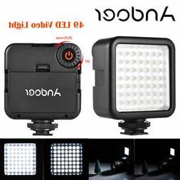 Photography Studio 49 LED Video Light Lamp Dimmable for DSLR