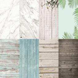 Photography Wood Backdrops Photo Studio PVC Waterproof Marbl