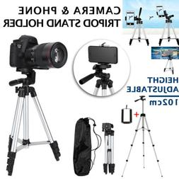 Professional Camera Tripod Stand Mount + Phone Holder for Ce