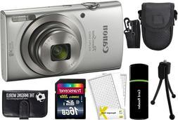 Canon PowerShot ELPH 180 20MP 8x Zoom HD Video Digital Camer