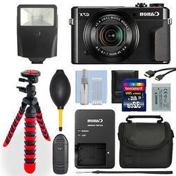 Canon Powershot G7x Mark II 20.1MP Digital Camera+ 32GB Delu