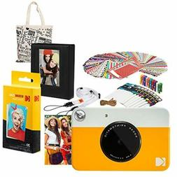Kodak PRINTOMATIC Instant Print Camera  Gift Bundle with Pho
