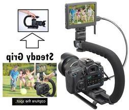 Pro Grip Camera Stabilizing Bracket Handle for Samsung NX300
