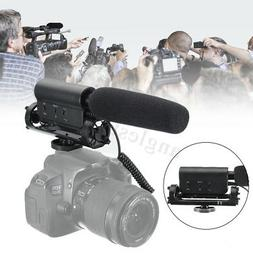 Pro Video Photography Interview Shotgun Microphone For Nikon