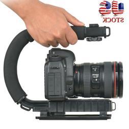 Pro Video Stabilizer Camera DSLR Handle Grip Rig Steadicam H