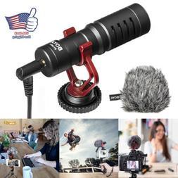 Proessional Cardioid Shotgun Microphone MIC for DSLR Camera