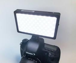 Professional LED On-Camera Fill Light for DSLRs and Video Ca