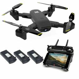 Cooligg Quadcopter Drone With HD Camera Selfie WiFi FPV Fold