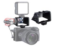 UURig R031 Camera Selfie Flip Screen, Cold Shoe Mount for Mi