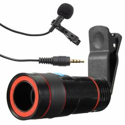 Rechargeable Optical Zoom Macro Camera Len High Mic Aux Pin