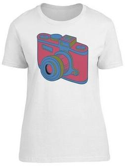 Red Colored Old Camera Men's Tee -Image by Shutterstock